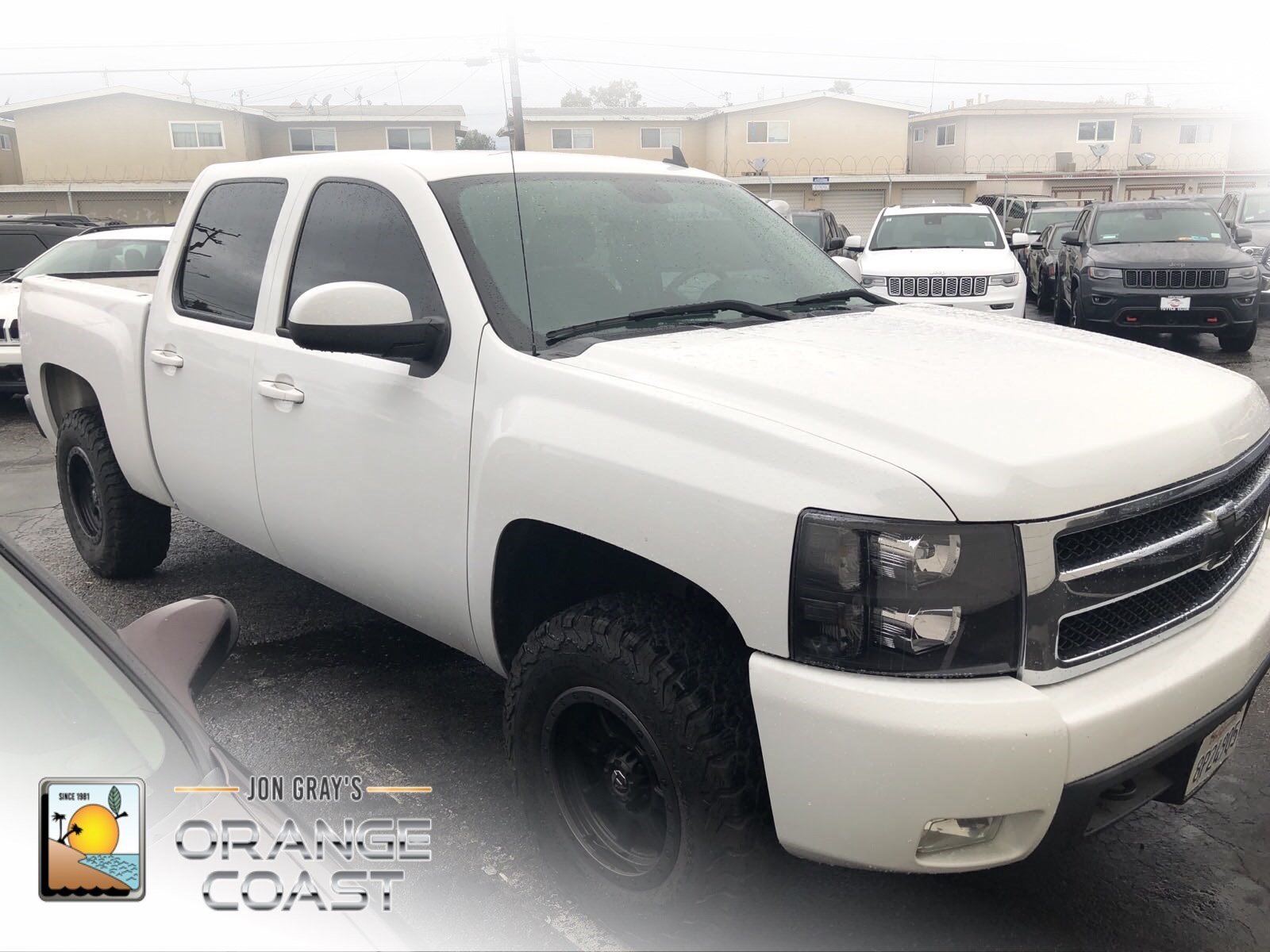Pre Owned 2008 Chevrolet Silverado 1500 LTZ Crew Cab Pickup in Costa