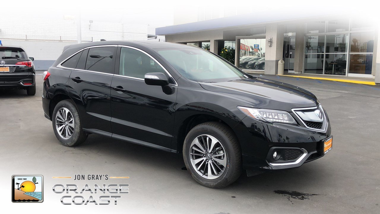 New Acura RDX With Advance Package Sport Utility In Costa Mesa - 2018 acura rdx rims