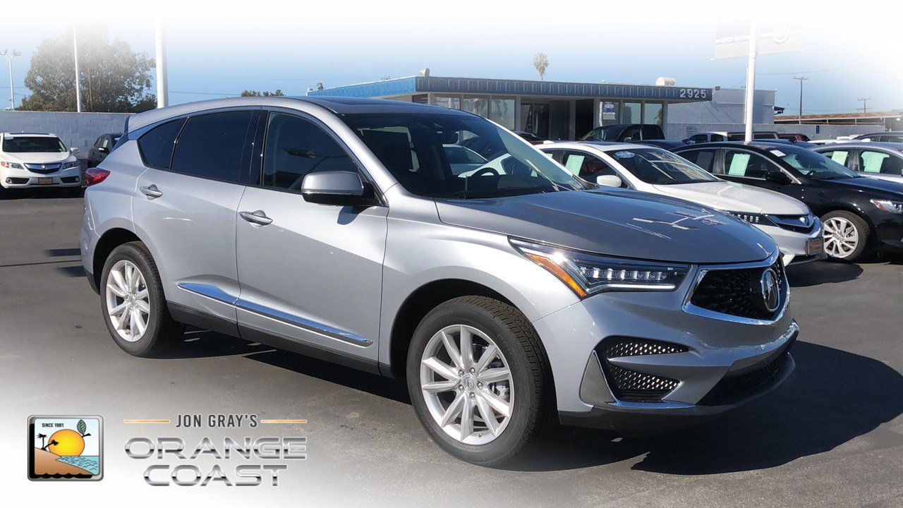 New 2019 Acura Rdx Base Sport Utility In Costa Mesa Rd90514