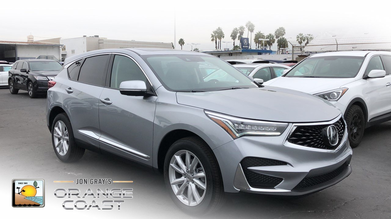 New 2019 Acura Rdx Base Sport Utility In Costa Mesa Rd90517