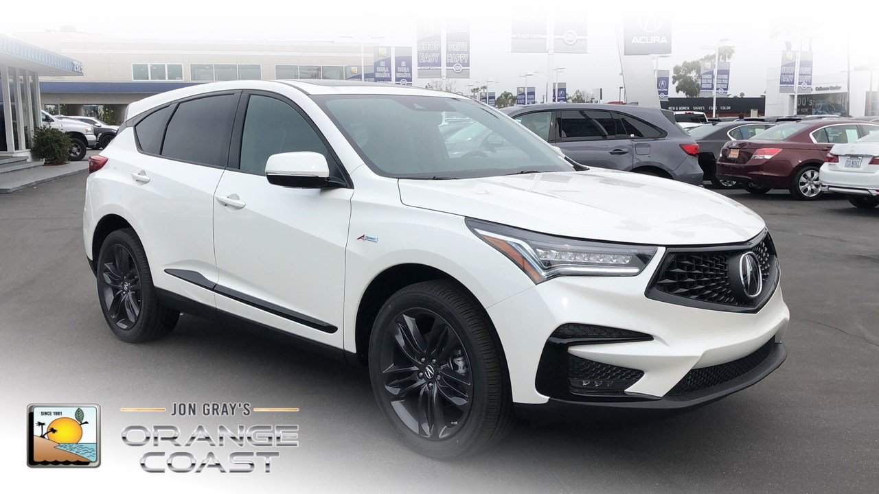 South Coast Acura >> New Acura Rdx For Sale Near Costa Mesa Ca Carsgenius Com