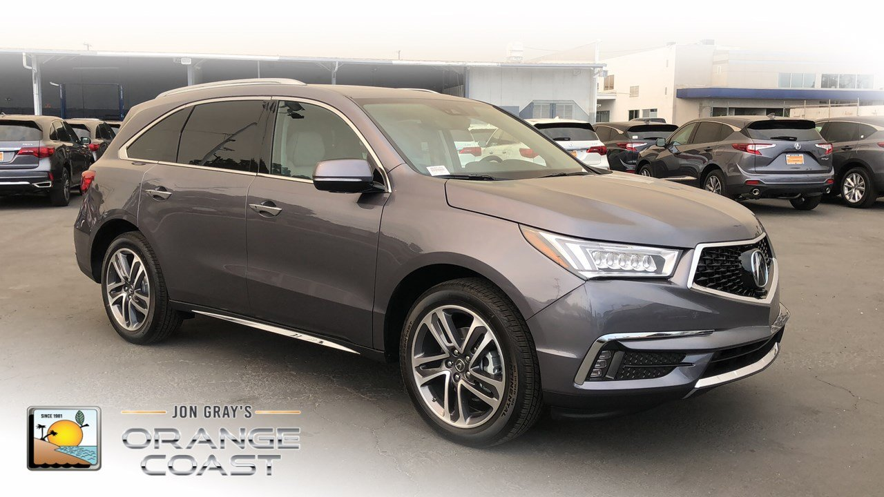 New Acura MDX SHAWD With Advance Package Sport Utility In - 2018 acura mdx wheels
